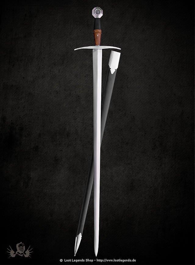 Spätmittelalterliches Kriegsschwert