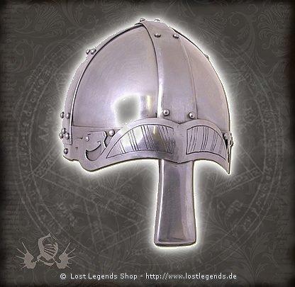 Spangenhelm mit Nasal 2mm Stahl