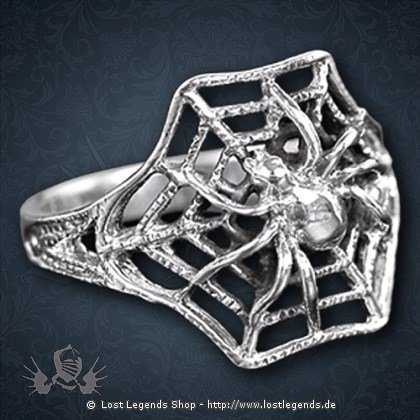 Spinnennetz-Ring Cobweb