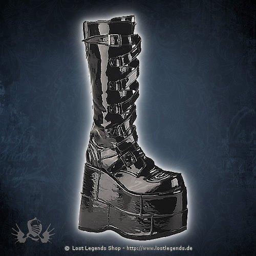 Stack-308 Lack Demonia Gothic Stiefel