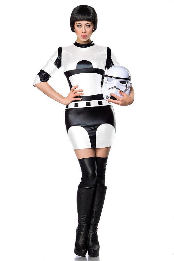 Star Fighter Komplettset schwarz/weiß