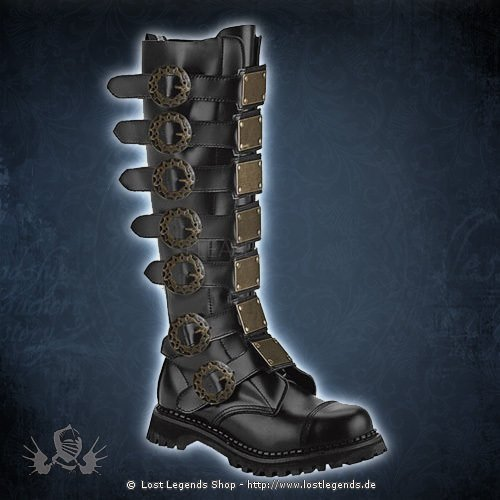 steam 30 black steampunk boot stiefel. Black Bedroom Furniture Sets. Home Design Ideas
