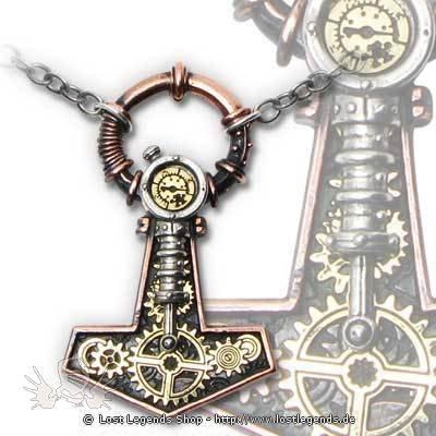 Steamhammer Steampunk Halskette