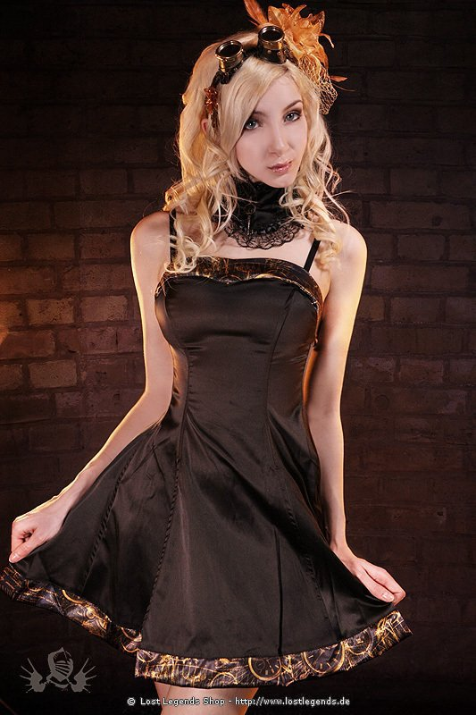 Steampunk Kleid Timeless Trim Prom Dress