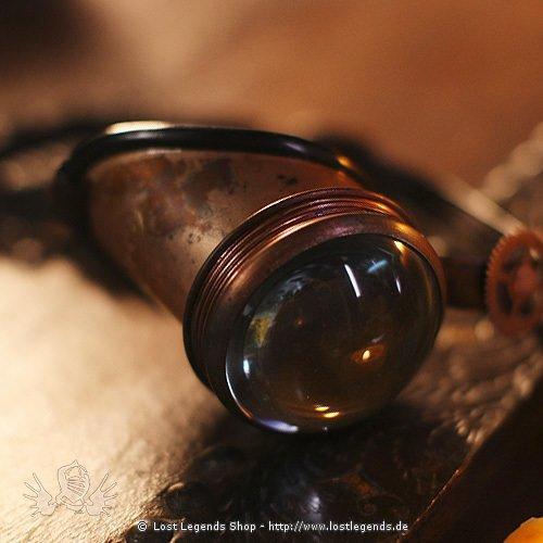 Steampunk Mono Goggles Magnifyer