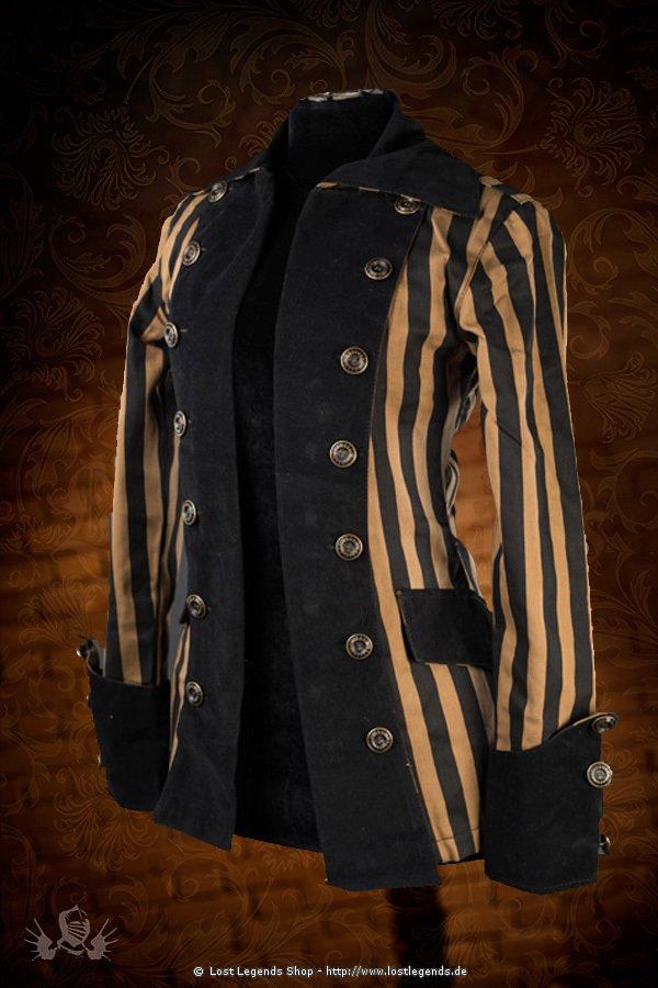 Steampunk Piratess Jacke