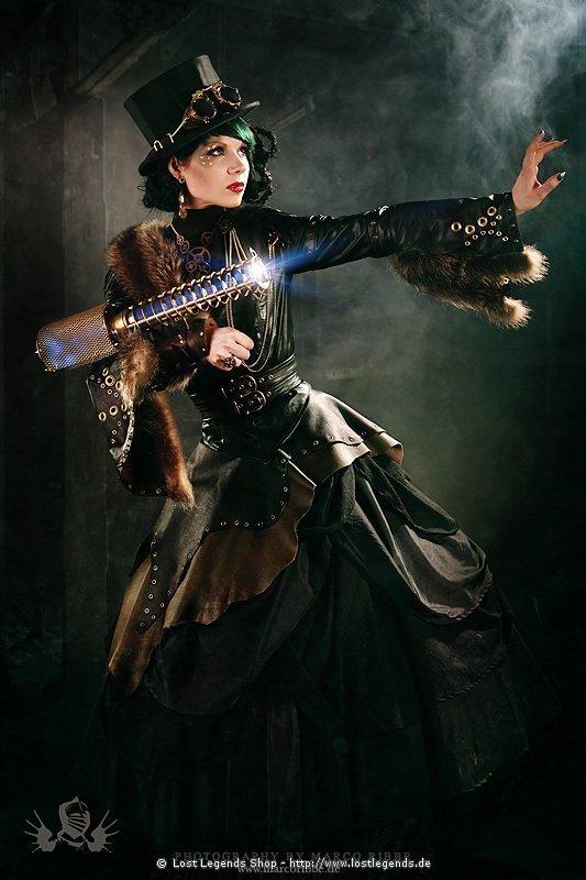 Foto-Shooting Gutschein Professionelle Fotos im Steampunk-Stil