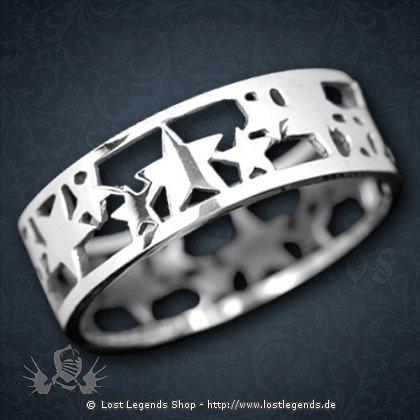 Sternenring Silber
