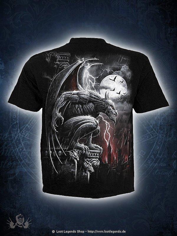 Stone Guardian T-Shirt schwarz SPIRAL
