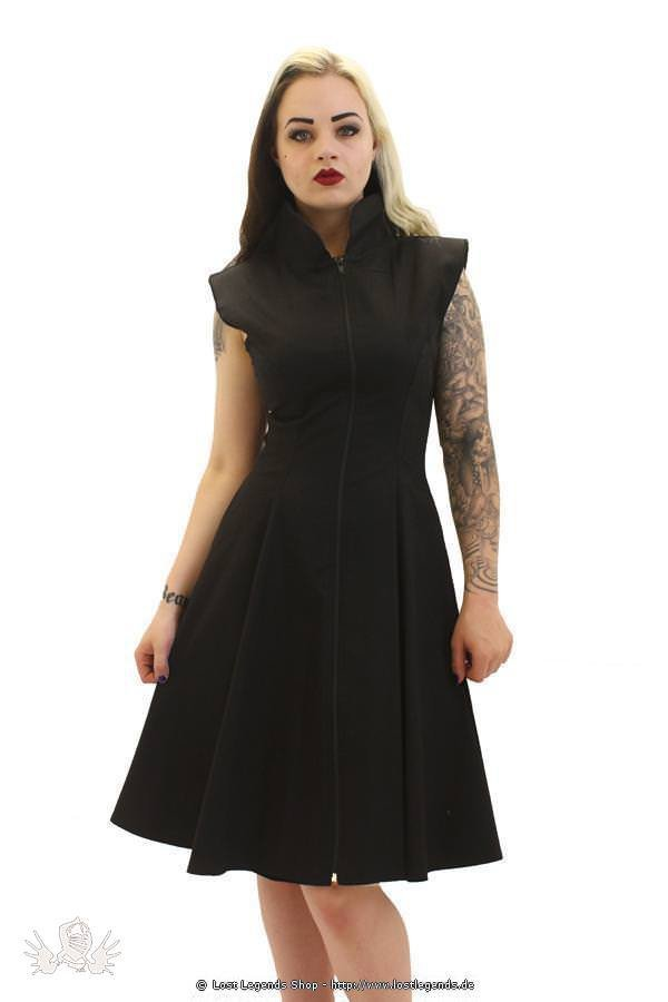 Stretch Canvas Gothic Kleid