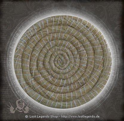 Strohscheibe rund, 65cm Durchmesser