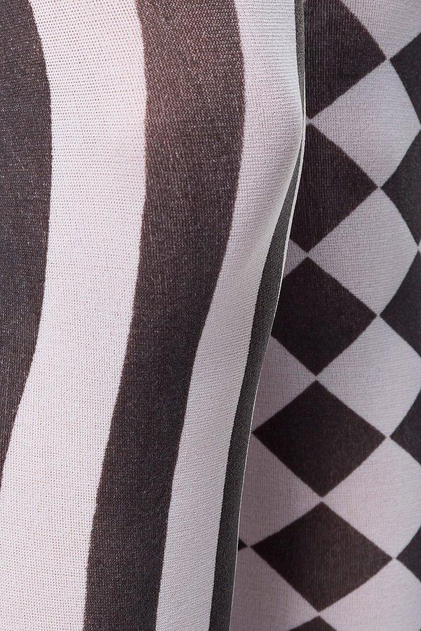 Strümpfe schwarz/weiß