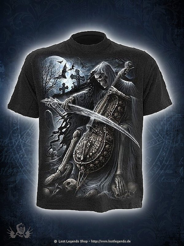 Symphony of Death T-Shirt SPIRAL