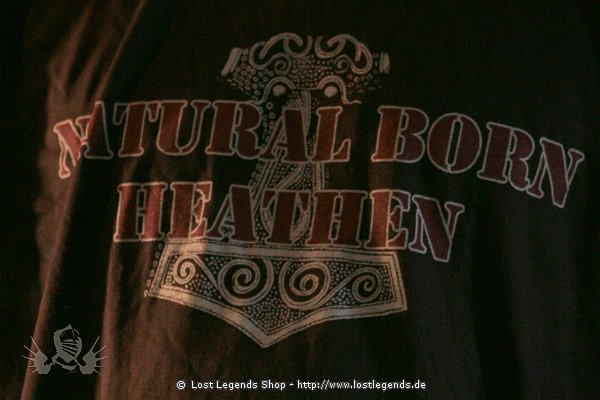 T-Shirt Natural Born Heathen