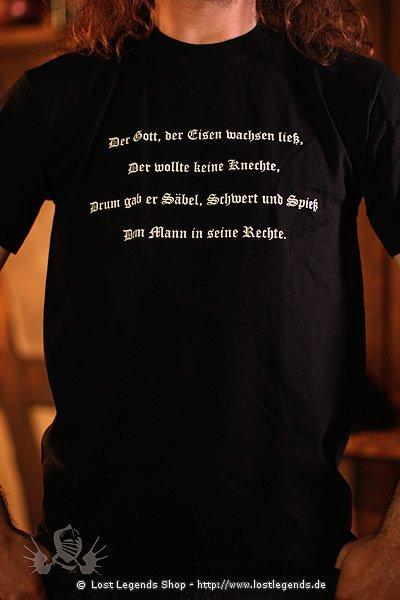 T-Shirt Schwertkämpfer