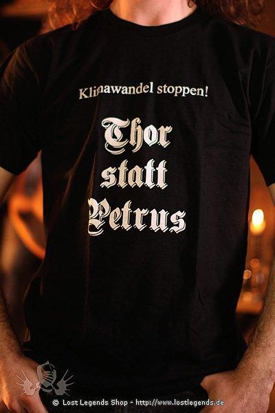 T-Shirt Thor statt Petrus
