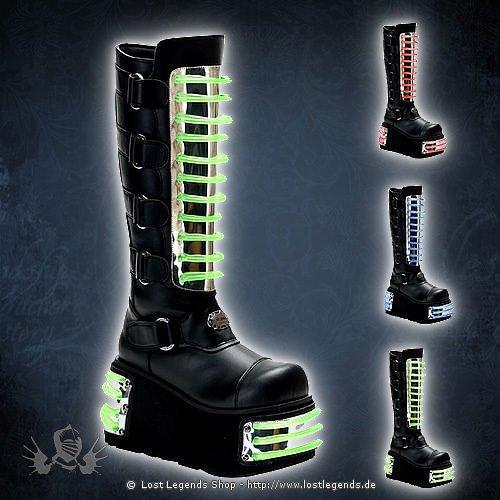 Techno-854UV Demonia Cyber Schuhe