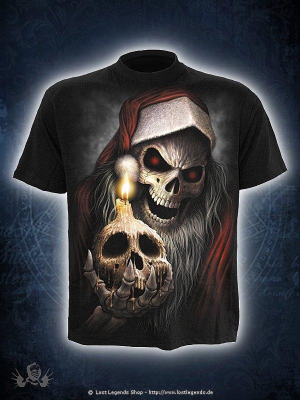 The Anti-Santa T-Shirt schwarz SPIRAL