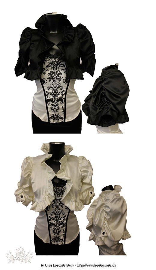Tina Rouched Steampunk Shrug