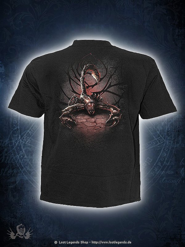 Tribal Scorpion T-Shirt SPIRAL