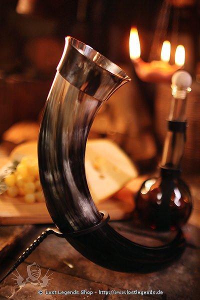 Trinkhorn mit Mundrand 0,5 Liter