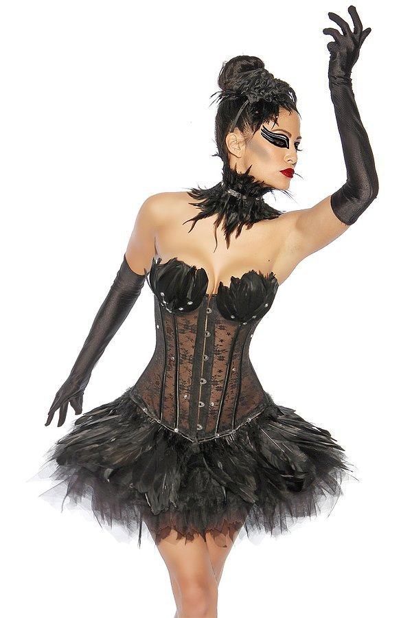 Tutu-Petticoat schwarz