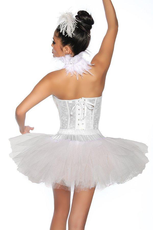 Tutu-Petticoat weiß