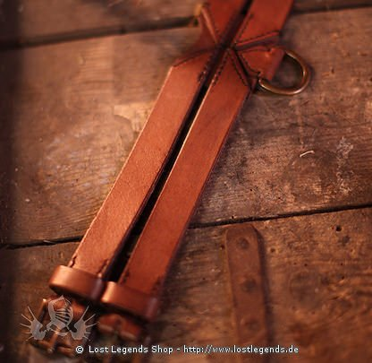 Larp Twin Belt 120 cm, braun