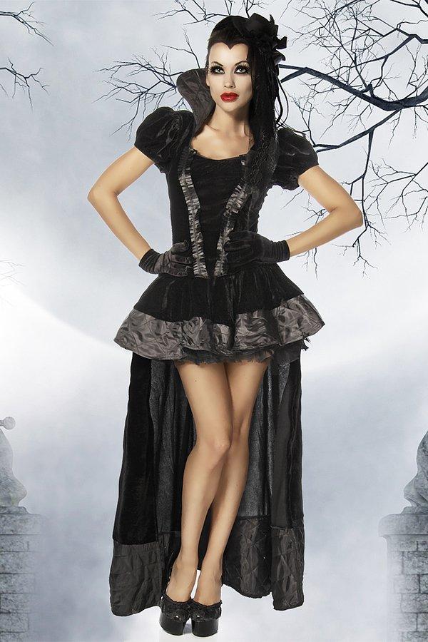 Vampirkostüm schwarz