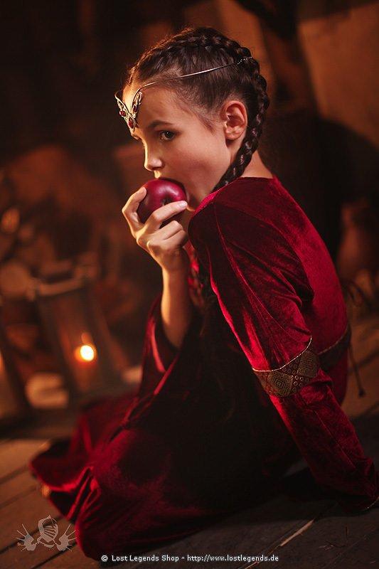 Velvet Princess Kleid, Samt