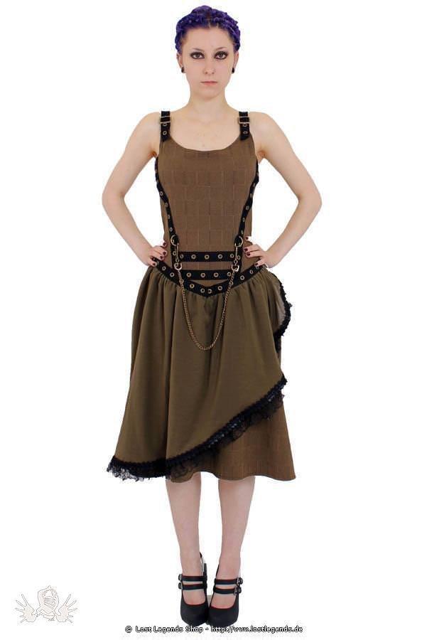 Verne Steam Steampunk Kleid