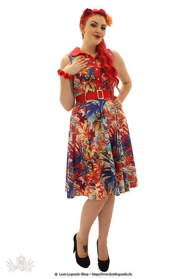 Vibrant Exotique Pinup Kleid
