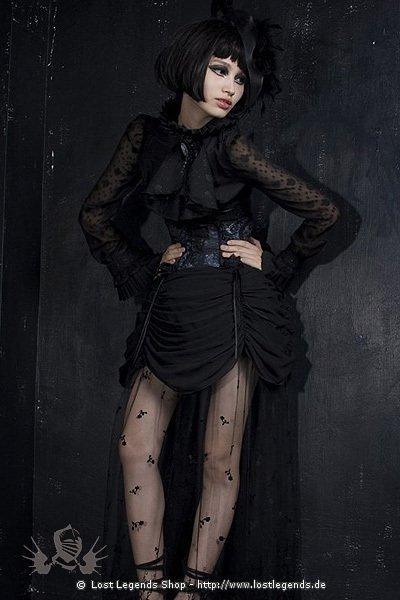 Victorian Frill Skirt