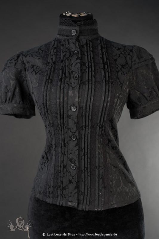 Eduardian Brocade Blouse Steampunk Bluse