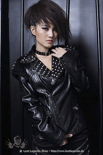 Visual Kei Rock Jacket Kunstleder