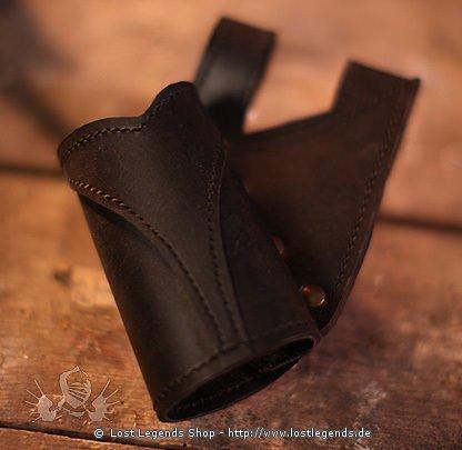 Waffenhalter Victory Leder, schwarz