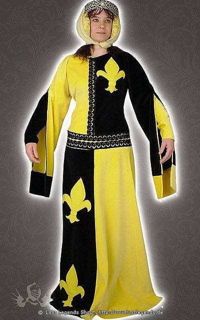 Wappenkleid Mittelalter Kostüm