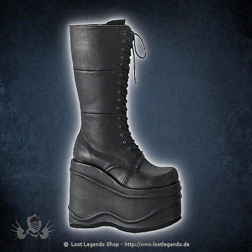 Wave-302 Demonia Gothic Stiefel