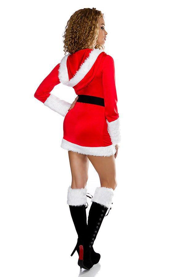 Weihnachtskostüm rot/weiß