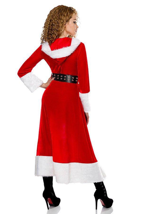weihnachtsmann mantel rot wei weihnachten. Black Bedroom Furniture Sets. Home Design Ideas