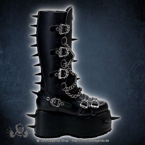 Wicked-808 Demonia Gothic Stiefel