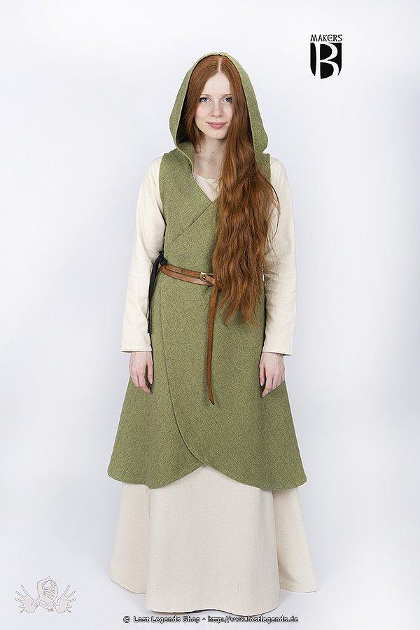 Wickelkleid Runa Lindgrün