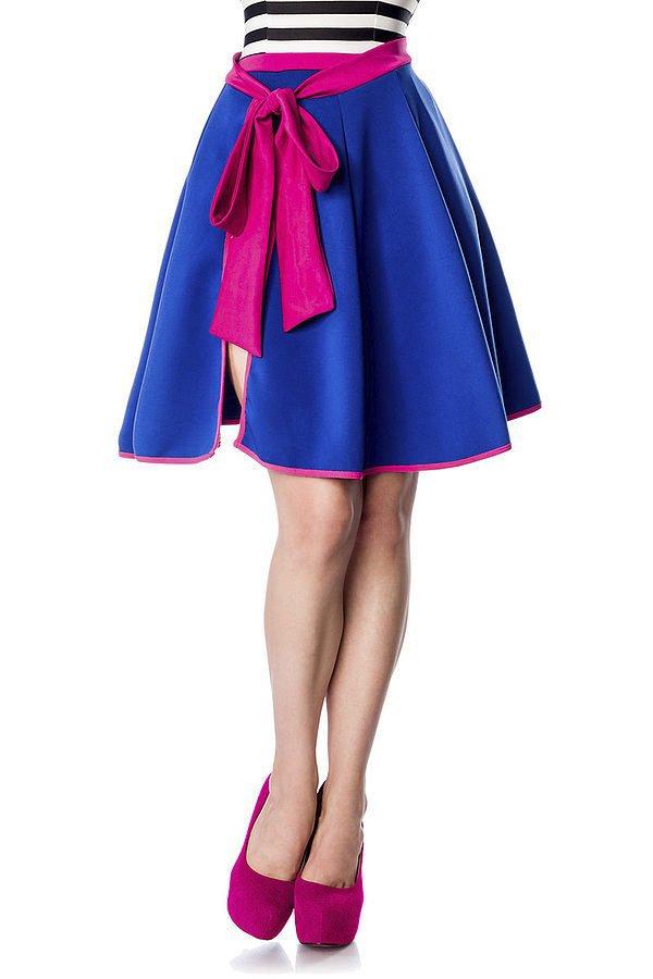 Wickelrock blau/pink
