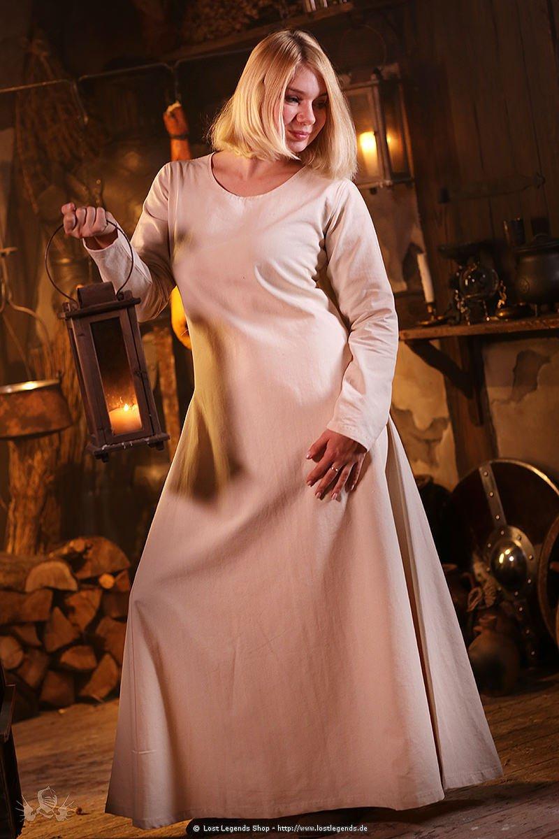 Wikinger Unterkleid Thora, natur
