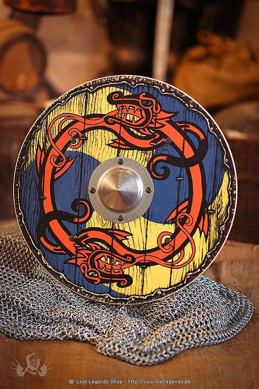 Wikingerschild rund
