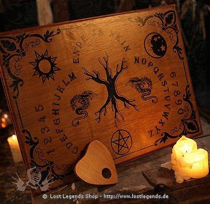 Witchboard Lebensbaum schwarz
