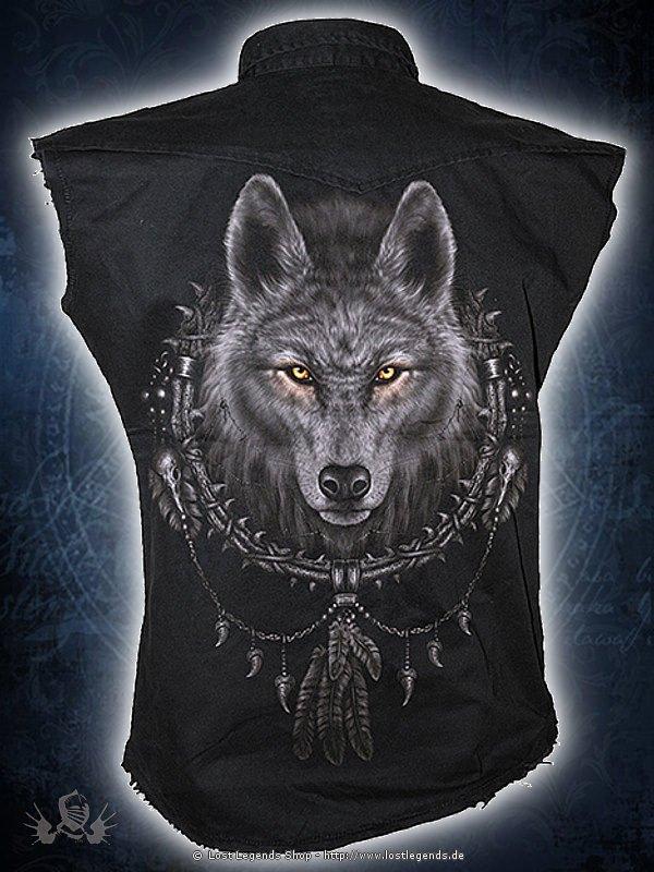 Wolf Dreams ärmelloses Vintage Workshirt SPIRAL