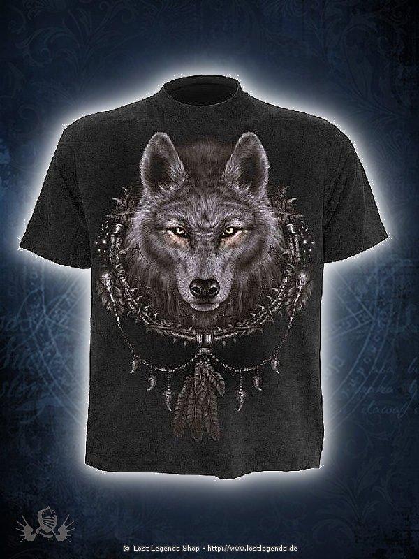 Wolf Dreams T-Shirt SPIRAL