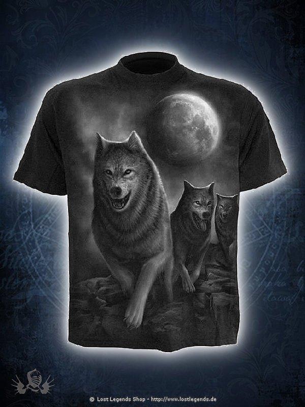 Wolf Pack Wrap T-Shirt SPIRAL