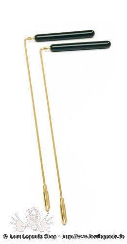 Wünschelrute mit Aufsatzspitze & Holzgriff, 38 cm